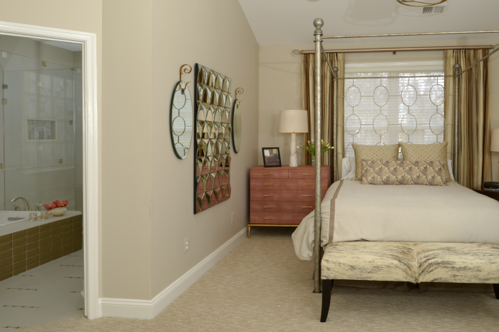 Coordinating Master Bedroom